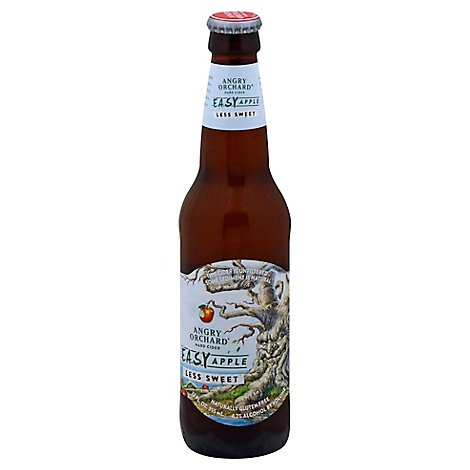 Angry Orchard Easy Apple In Bottles - 6-12 Fl. Oz.
