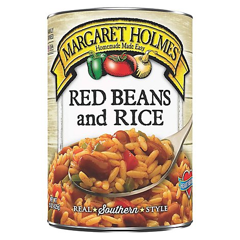 Margaret Holmes Red Beans Rice - 15 Oz