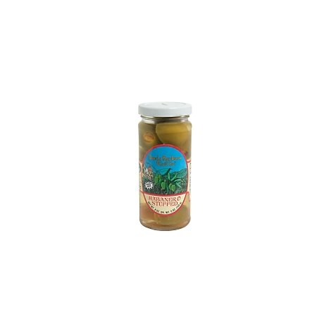Santa Barbara Olive Co. Olives Hand Stuffed Habanero - 5 Oz