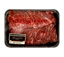 Meat Service Counter Open Nature Beef Grass Fed Angus Skirt Steak - 1.50 Lbs.