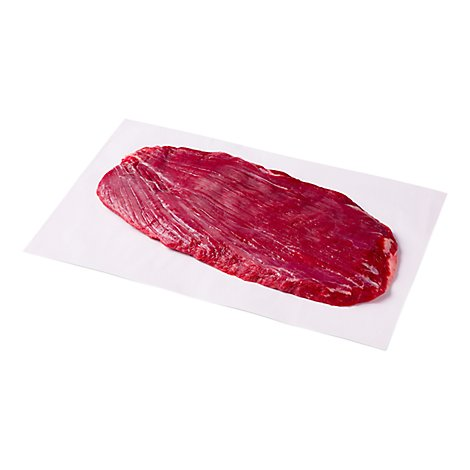 Meat Service Counter Open Nature Beef Grass Fed Angus Flank Steak - 1.50 Lbs.