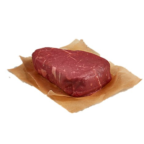 Meat Service Counter USDA Choice Prime Beef Tenderloin Steak - 1 LB