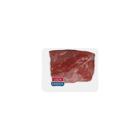 Meat Service Counter Beef Brisket Flat Cut - 4 LB