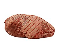 Open Nature Lamb Leg Semi Boneless Service Case - 3.5 Lb
