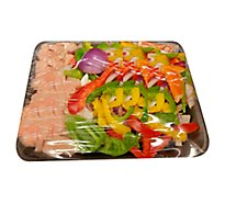 Meat Service Counter Chicken Fajitas With Vegetables - 1.00 LB
