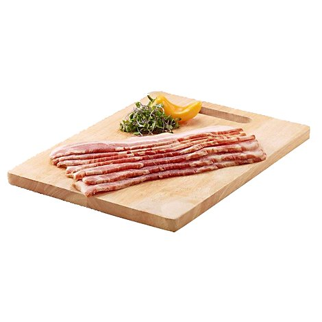 Meat Service Counter Bacon Smoked Thick Cut - 1 LB