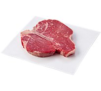 Meat Service Counter USDA Choice Beef Loin Porterhouse Steak - 2 LB