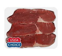 Meat Service Counter USDA Choice Beef Round Tip Roast - 3.50 LB