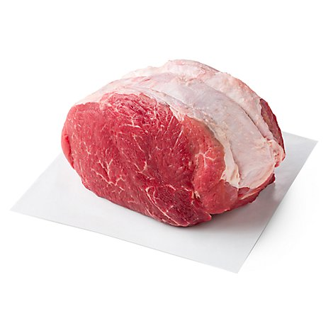 Meat Counter Beef USDA Choice Chuck Cross Rib Roast Boneless Service Case - 3 LB