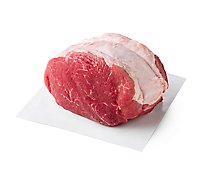Meat Service Counter USDA Choice Beef Chuck Cross Rib Roast Boneless - 3 LB