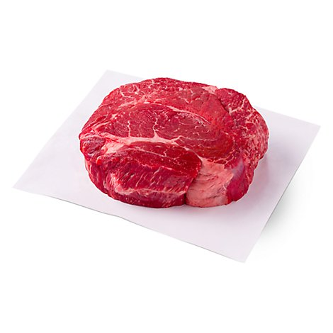 Meat Service Counter USDA Choice Beef Chuck Pot Roast Boneless - 3 LB