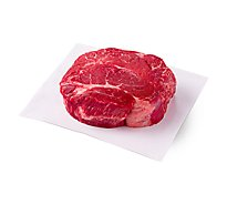 Meat Counter Beef USDA Choice Chuck Pot Roast Boneless Service Case - 3 LB