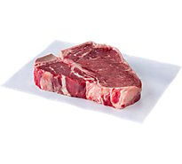 Meat Service Counter USDA Choice Beef Loin T Bone Steak 1 Count - 2.00 Lb