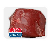 Meat Service Counter USDA Choice Beef Bottom Round Roast - 3.50 LB