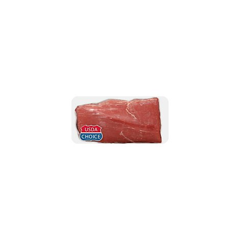 Meat Service Counter USDA Choice Beef Eye Of Round Roast - 3 LB