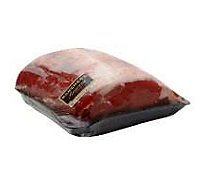 Meat Service Counter USDA Choice Beef Ribeye Roast Bone In Seasoned - 4.5 Lb