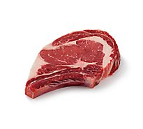Meat Service Counter USDA Choice Prime Beef Ribeye Steak Bone In - 1.50 Lbs.