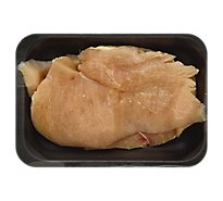 Meat Counter Chicken Breast Boneless Skinless Thin Cut Service Case - 1.50 LB