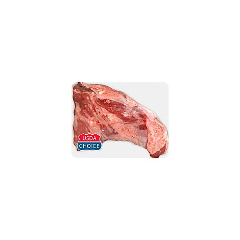 Meat Service Counter USDA Choice Beef Loin Tri Tip Untrimmed - 3.50 LB