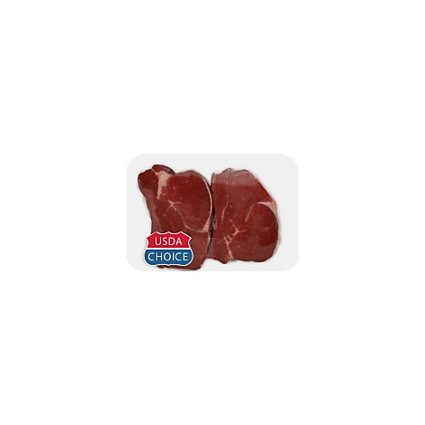 Meat Counter Beef USDA Choice Loin Tenderloin Steak Dry Aged Service Case - 1 LB