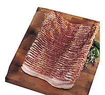 Meat Service Counter Farmers Bacon Peppered Thick Sliced - 1 LB