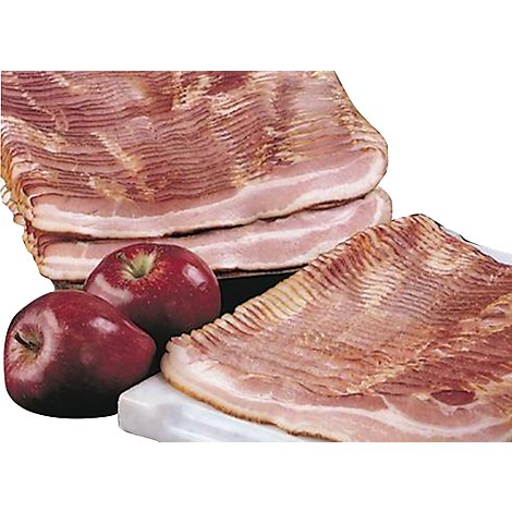 Meat Service Counter Hemplers Bacon Natural Applewood Original - 1 LB