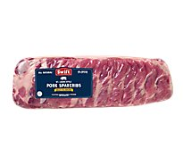 Meat Service Counter St Louis Style Pork Spareribs Previously Frozen - 3.50 LB
