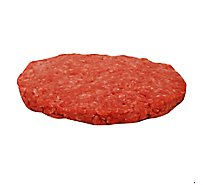 Meat Counter Beef Ground Beef Sliders 80% Lean 20% Fat Plain Service Case 1 Count - 2 Oz