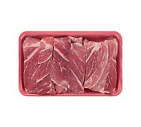 Meat Service Counter Pork Shoulder Country Style Ribs Boneless - 2 LB