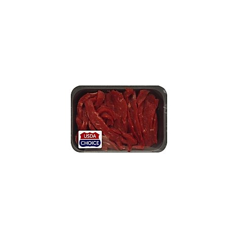 Meat Counter Beef Stir Fry Marinated Service Case - 1 LB