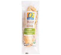 O Organics Organic Bread Batard Roasted Garlic - Each