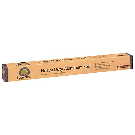If You Care Heavy Duty Aluminum Foil Rcyld 30sf - Each