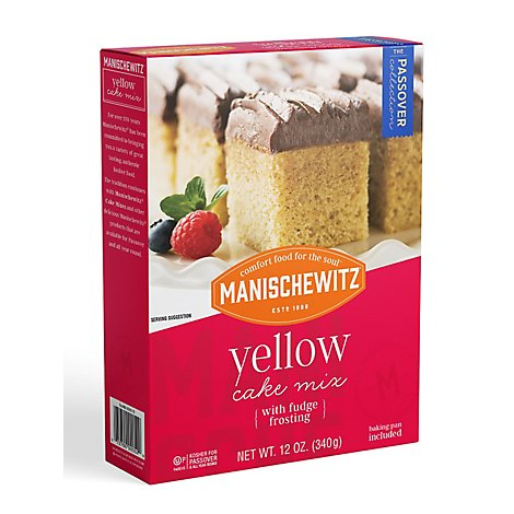 Manischewitz Yellow Cake Mix - 12 Oz