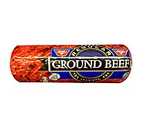Stones Beef Ground Beef Chub 73% Lean 27% Fat - 1 Lb