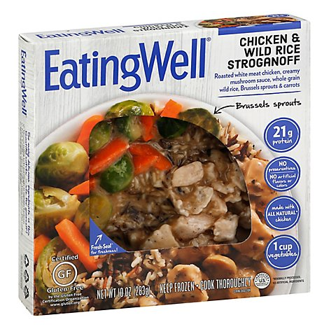 EatingWell Frozen Entree Chicken & Wild Rice Stroganoff - 10 Oz