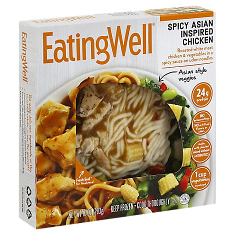 EatingWell Frozen Entree Spicy Asian Inspired Chicken - 10 Oz