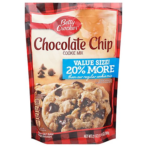 Betty Crocker Cookie Mix Chocolate Chip Value Size - 21 Oz