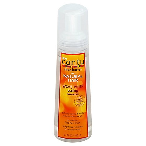 Cantu Wave Whip Curling Mousse - 8.4 Fl. Oz.