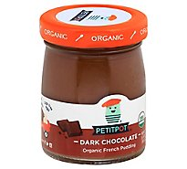 Petit Pot Pudding Organic Dark Chocolate - 4 Oz