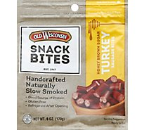 Old Wisconsin Honey Turkey Snack Bites - 5 Oz