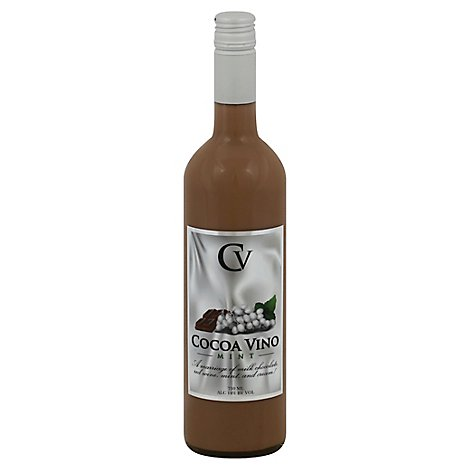 Cocoa Vino Chocolate Mint Wine - 750 Ml