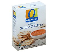 O Organics Crackers Saltines - 5.5 Oz
