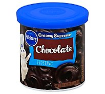 Pillsbury Creamy Supreme Frosting Chocolate - 16 Oz