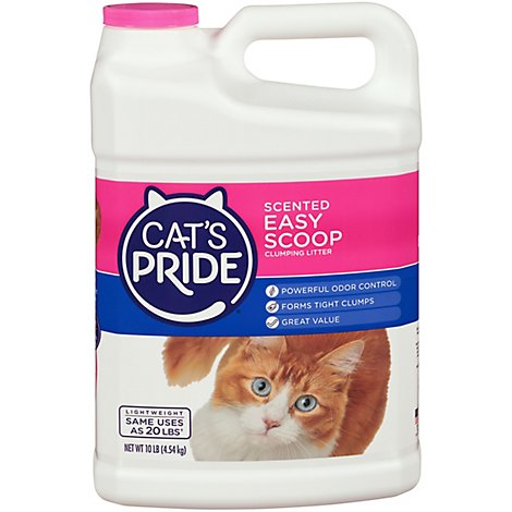 Cats Pride Cat Clumping Litter Scented Easy Scoop - 10 Lb