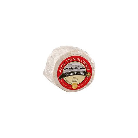Marin French Petite Truffle Brie - 4 Oz