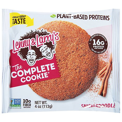 Lenny & Larrys The Complete Cookie Snickerdoodle - 4 Oz