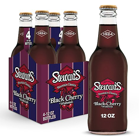 Stewarts Black Cherry - 4-12 Fl. Oz.