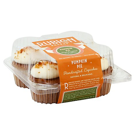 Bakery Cupcake Pumpkin Pie Rubicon 4 Pack - Each