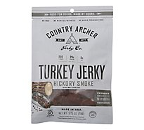 Country Archer Turkey Jerky Hickory Smoke - 2.75 Oz