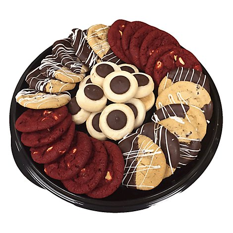 Bakery Cookie Tray With Ghirardelli 48 Count - Each